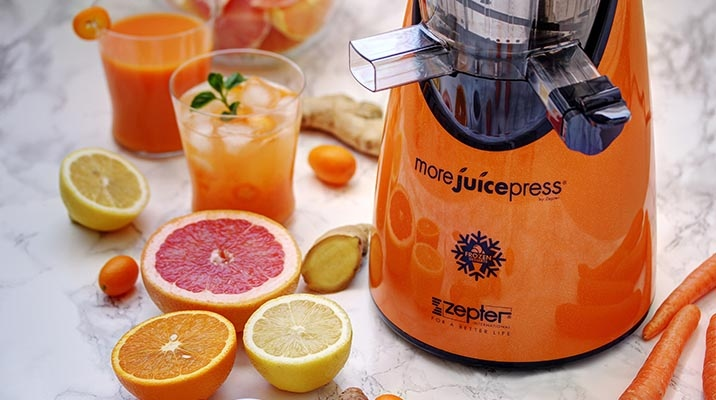 Zepter More Juice Press for a fuller and healthier life