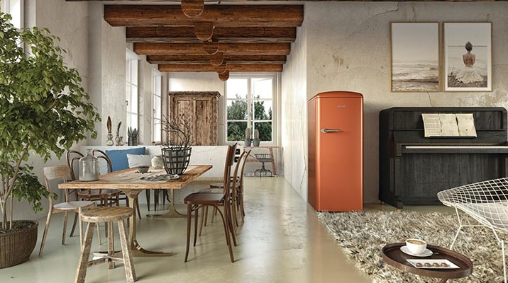 Introducing the colors of the iconic Gorenje Old Timer refrigerator line