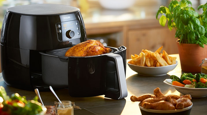 The new dimension of frying: meet the Philips Airfryer XXL