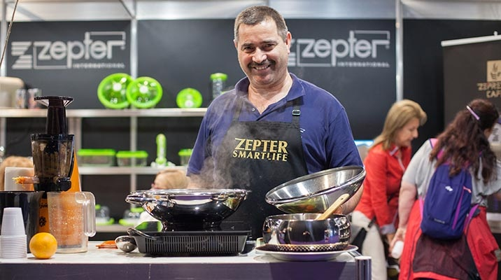Cooking show, Zepter style