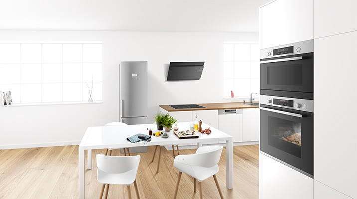 Brand new features for Bosch Serie6 AddedSteam and HomeConnect ovens