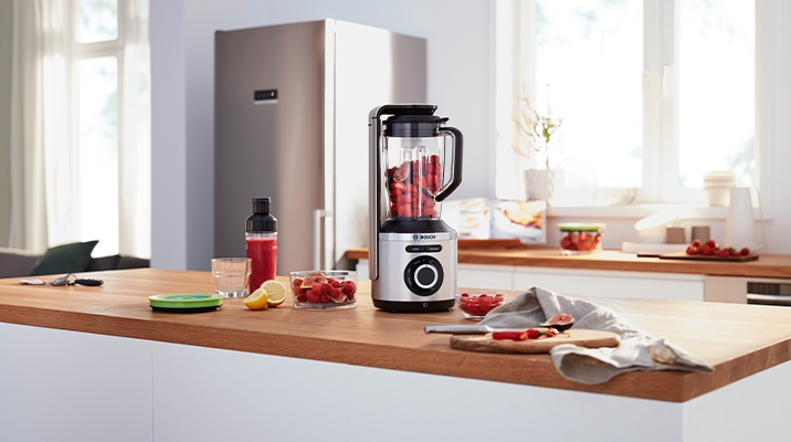 The new Bosch VitaMaxx blender brings comfort to the kitchen