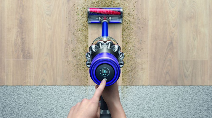 Dyson innovation in wireless vacuum cleaners